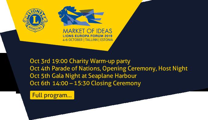 d2e71187bb8 Lions Europa Forum 2019 in Tallinn. 1 subscriber